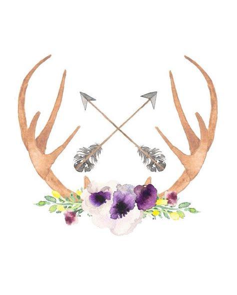 watercolor tattoo tutorial easy watercolor flower tutorial bohemian nursery deer