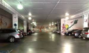 space in a pasadena parking garage communicate science