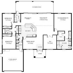 floorplan of a house floor plans on home floor plans open floor