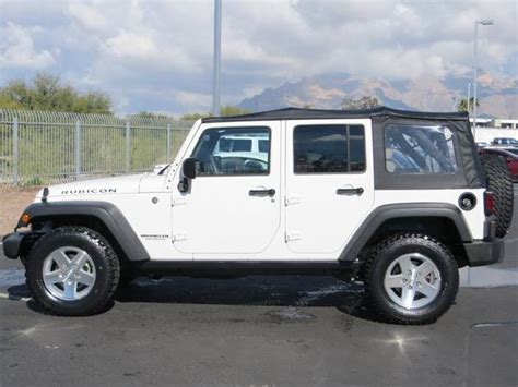 jeep tucson 2007 jeep wrangler unlimited rubicon for sale in tucson az