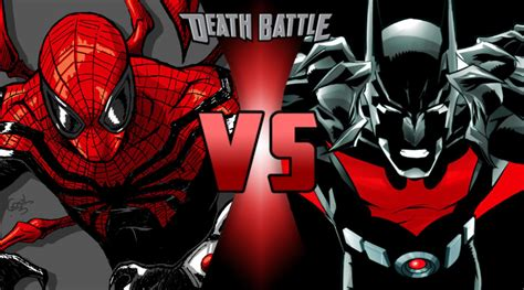 Shattered Trident the superior spider vs batman beyond by trident346 on