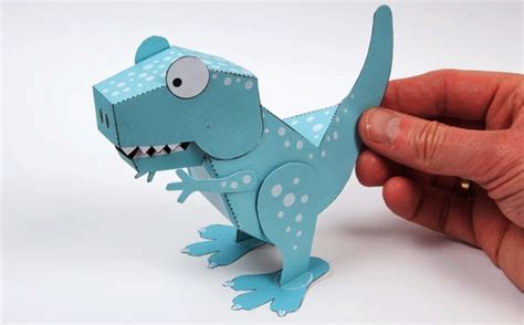 Paper Dinosaur Craft - dinosaur paper crafts phpearth