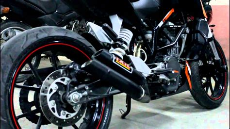 Ktm Duke Performance Parts Ktm Duke 200 Ixil Exhaust Aftermarket Exhaust 2013