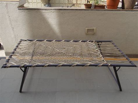 metal furniture wire woven folding charpai manja cot