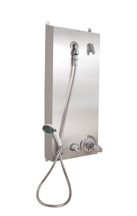 Plumbing Rough by Surface Mounted Ada Compliant Wall Shower Bradley