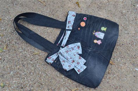 Handmade Denim - purses on tote bags handmade and denim