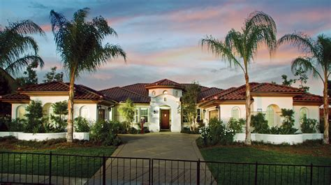 luxury one story homes toll brothers at stonebridge luxury new homes in san