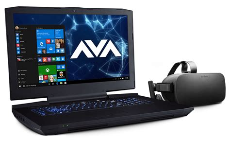 Vr Laptop The Avatar P870km G Vr Ready Laptop Avadirect