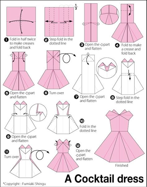 Origami Clothes For - origami evening dress origami how to make a