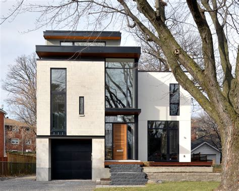 modern home design ottawa modern custom home modern exterior ottawa by