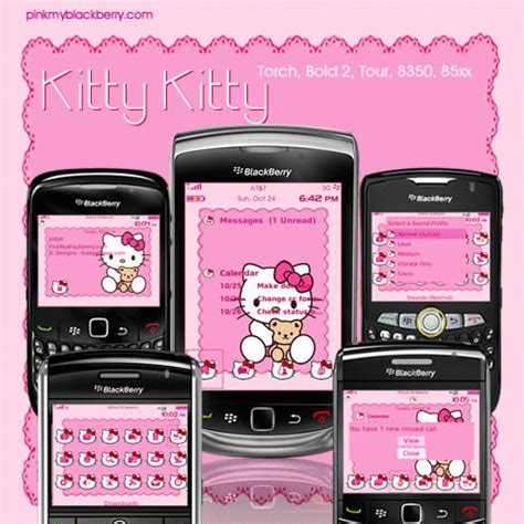 themes blackberry 9320 hello kitty cute kitty kitty theme from jc designs also torch
