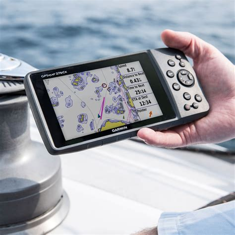 garmin gps boat products garmin gpsmap 276cx handheld chartplotter free uk