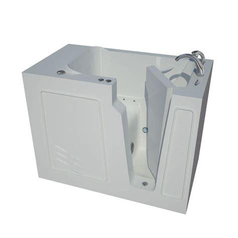 heated jacuzzi bathtub universal tubs nova heated 4 4 ft walk in air jetted tub