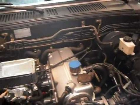 mazda b2000 header part two mazda b2000 how to with 2 2l weber carb