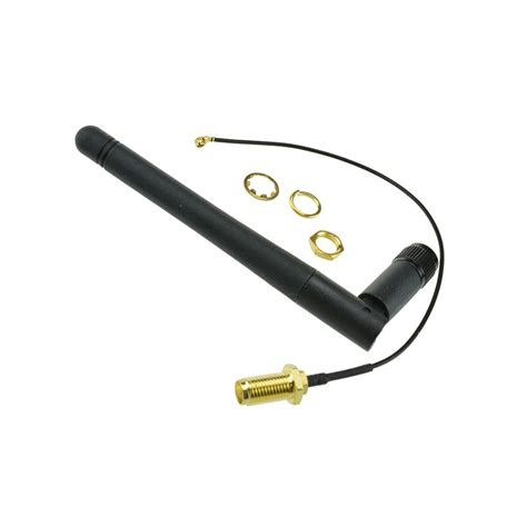 24ghz External Antenna For Esp8266 Serial Wifi Module 2 4ghz bluetooth wifi ipex ipx antenna for esp8266 spark zigbee rf wireless