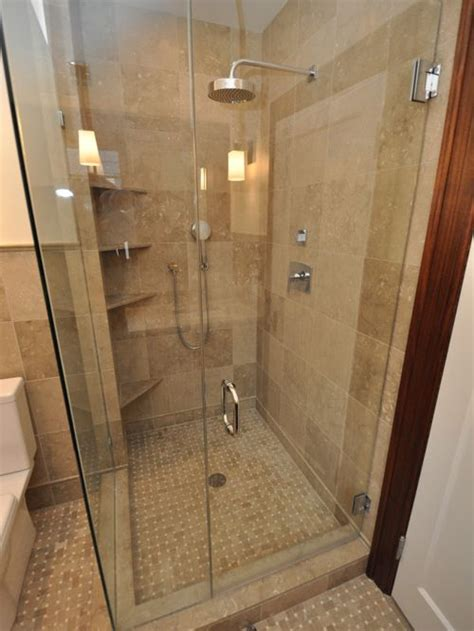 Bathroom Shower Ideas On A Budget Shower Corner Shelves Home Design Ideas Pictures Remodel