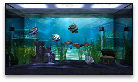 Tv Aqua aquarium app fills your apple tv with ai fish