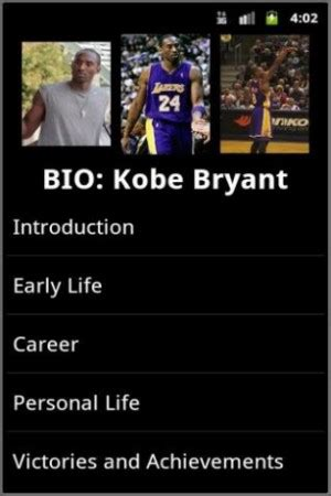 kobe bryant biography movie kobe bryant quotes about life quotesgram