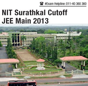 Nit Surathkal Mba Review by Jee 2013 Cutoff For Nit Surathkal