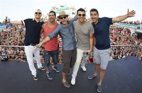 rock the boat nkotb cruise new kids on the block s rock this boat see that moment