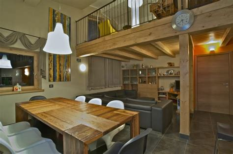 Déco Chalet Moderne by D 233 Co Chalet Montagne Dans Le Salon En 50 Id 233 Es Int 233 Ressantes