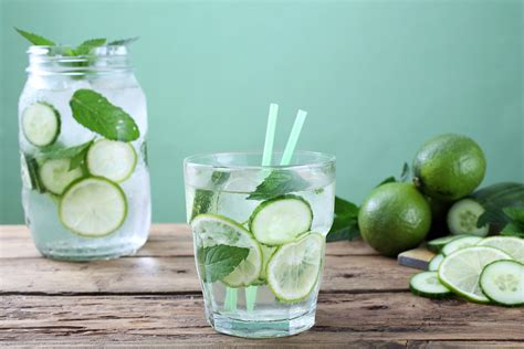 Cucumber Lemon Detox Water Recipe by Delicious Detox Water Recipes