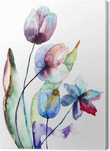 quadri fiori stilizzati quadro su tela fiori stilizzati pixers 174 viviamo per il