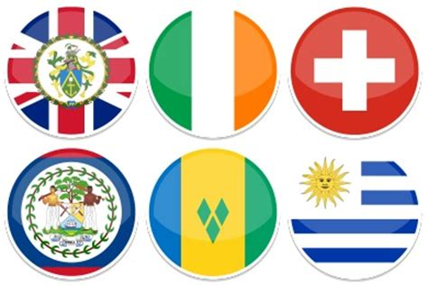 flags of the world round round world flags iconset 255 icons custom icon design