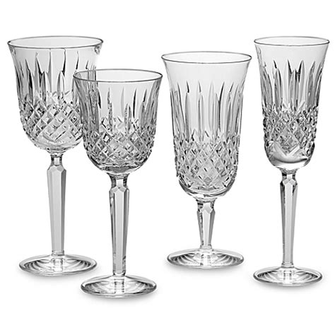 waterford crystal barware waterford 174 kelsey crystal stemware and barware bed bath