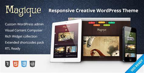 theme wordpress ultimate plantillas wordpress magique ultimate creative