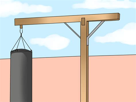 how to a to stand how to make a punching bag stand 9 steps with pictures
