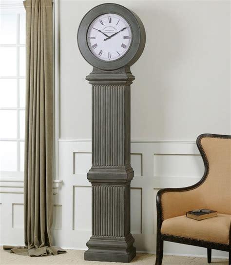 chouteau floor clock modern floor and grandfather clocks by modern furniture warehouse
