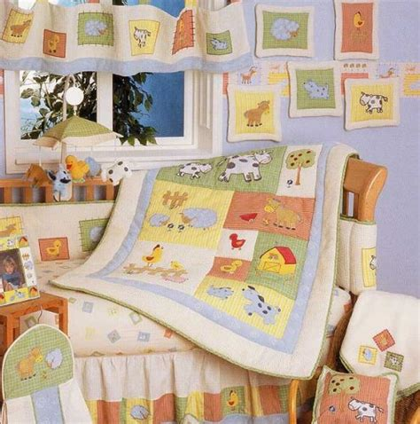 baby stores barnyard 6 crib bedding set by kidsline