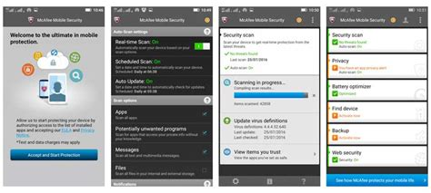 mcafee antivirus mobile aplikasi antivirus android mcafee mobile security