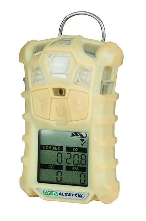 Multi Gas Detector Msa msa altair 4x multi gas detector lel o2 co h2s no2 so2 gas detection accurate hse safety
