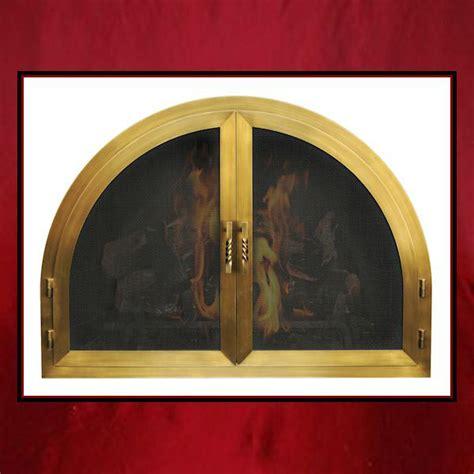 Custom Fireplace Glass Doors by Arch Fireplace Door Northshore Fireplacenorthshore Fireplace