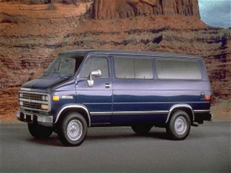 chevrolet sportvan g30 pricing ratings reviews kelley blue book