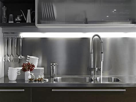 Led Backsplash Panels by Cr 233 Dence Fond De Hotte Pour La Cuisine Maplaqueinox Com