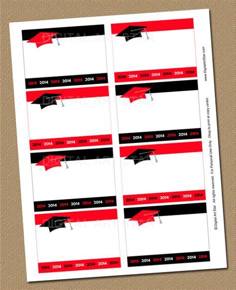 printable graduation labels digital art star printable party decor 2014 graduation