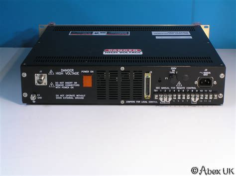 Power Supply Jaring 20 Er glassman er 15n20 high voltage power supply 0 15kv 0 20ma 300w applied materials