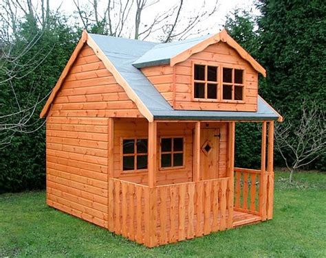 Shedlands Sheds by Shedlands Traditional Swiss Cottage Playhouse 10 X8