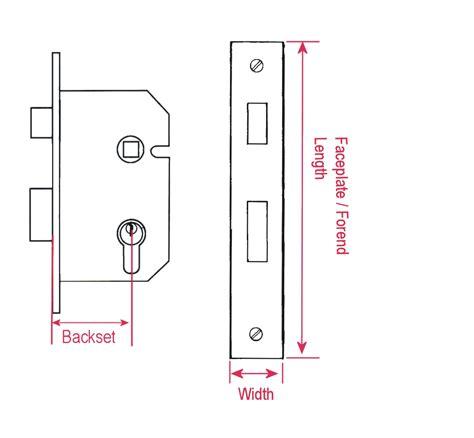 Bathroom Door Lock Measurements Mortice Door Locks Mortise Locks Measurement Guide