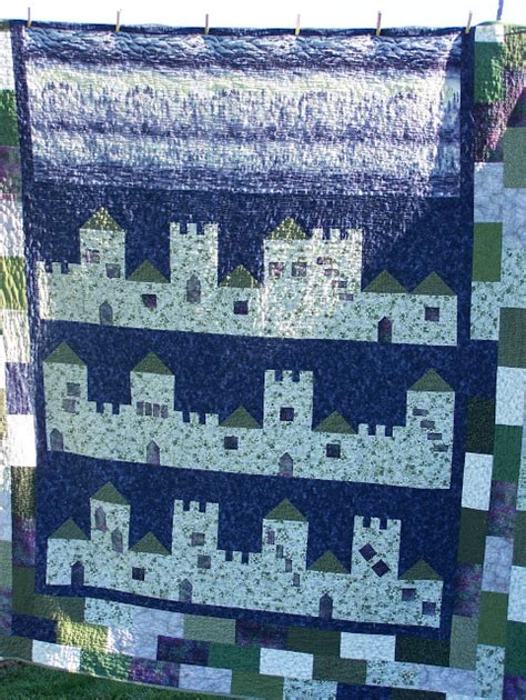 Castle Quilt by Busy Quilts Castle Quilt