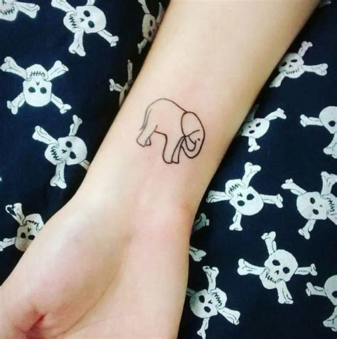 simple elephant tattoo meaning 60 best elephant tattoos meanings ideas and designs 2018