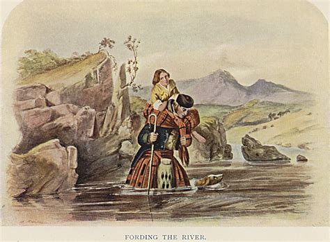 fording a river mcian s highlanders at home fording a river