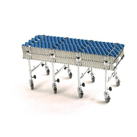 adjustable expandable gravity wheel 9 roller conveyor flexible table t1732 ebay flexible conveyor skate wheel width 500mm expanded 6 0m