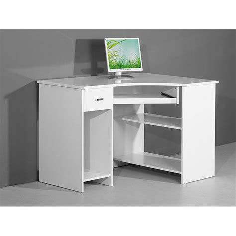 white corner computer desk venus white high gloss corner computer desk 3976 r
