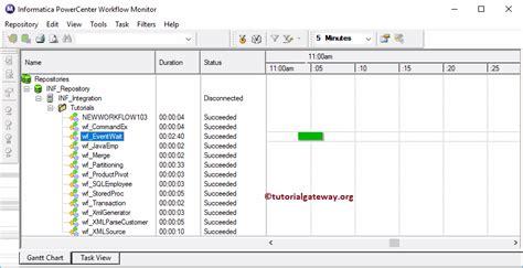 workflow monitor informatica workflow monitor
