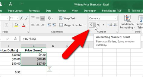 excel format x after number how to change the currency symbol for certain cells in excel