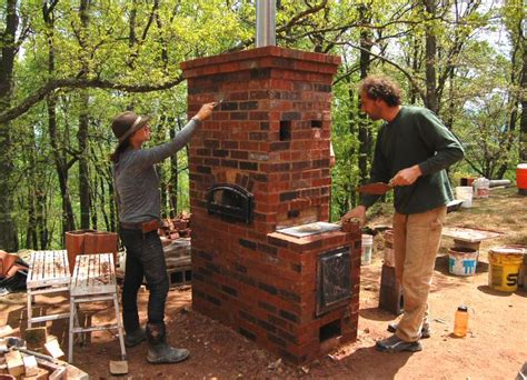 How To Build An Outdoor Wood Burning Fireplace - improving woodstove efficiency rocket stoves amp masonry heaters hand print press